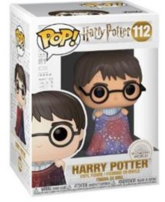 Funko Pop! Harry Potter Harry Potter with Invisibility Cloak Stock