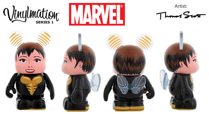 Vinylmation Open And Misc Marvel Wasp