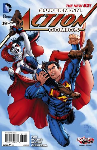 DC Comics Action Comics (2011 - 2016) Action Comics (2011) #39B Stock
