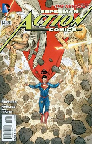 DC Comics Action Comics (2011 - 2016) Action Comics (2011) #14E Icon