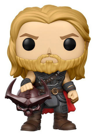 Funko Pop! Marvel Thor (Ragnarok) - w/ Surtur's Head