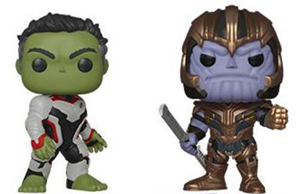 Funko Pop! Marvel Hulk and Thanos