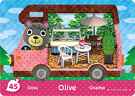 Amiibo Cards Welcome amiibo Olive