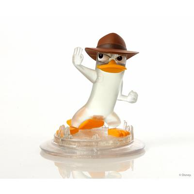 Disney Infinity Figures Phineas and Ferb Agent P (Crystal)