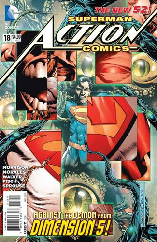 DC Comics Action Comics (2011 - 2016) Action Comics (2011) #18 Stock Thumb