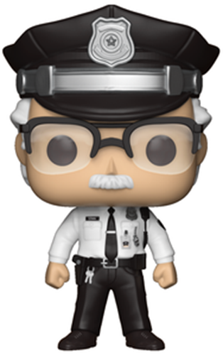 Funko Pop! Marvel Stan Lee (Winter Soldier)