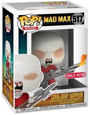 Funko Pop! Movies Coma-Doof Warrior (w/ Flames) Stock