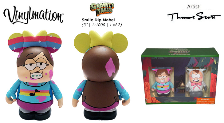 Vinylmation Open And Misc Gravity Falls Smile Dip Mabel