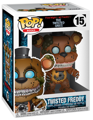 FUNKO POP FIVE NIGHTS AT FREDDY/'S TWISTED FREDDY #15 THE TWISTED ONES