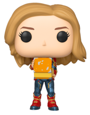 Funko Pop! Marvel Captain Marvel Holding LunchBox