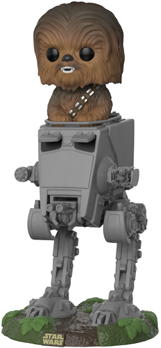 Funko Pop! Star Wars Chewbacca on AT-ST