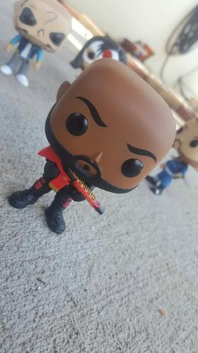 Funko Pop! Heroes Deadshot commander-funko on tumblr.com