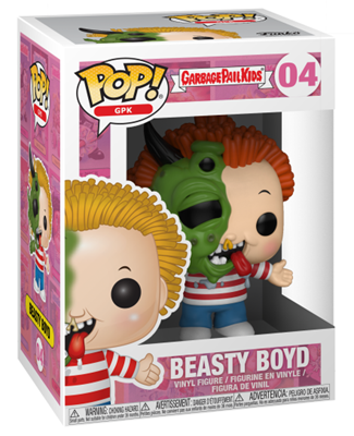 Funko Pop! Garbage Pail Kids Beasty Boyd Stock