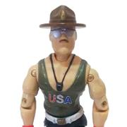 GI Joe 1985 SGT Slaughter