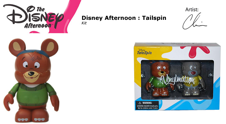 Vinylmation Open And Misc Disney Afternoon Kit
