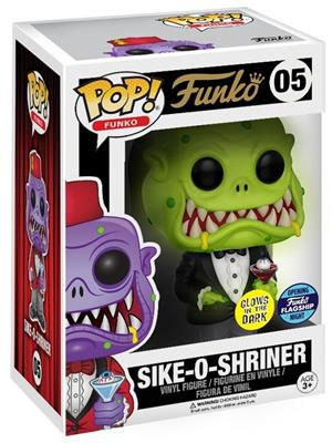 Funko Pop! Funko Sike-O-Shriner (Green Glow) Stock