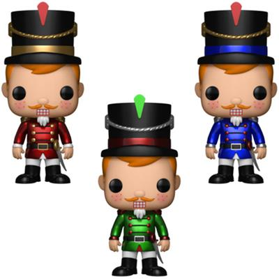 Funko Pop! Freddy Funko Nutcrackers (3-Pack)