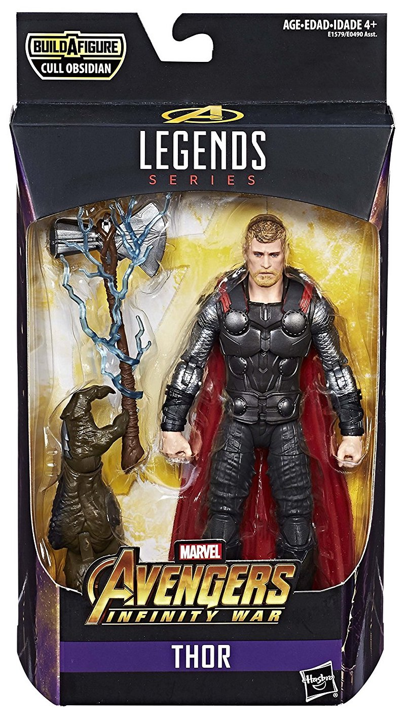 Marvel Legends Cull Obsidian Series Thor