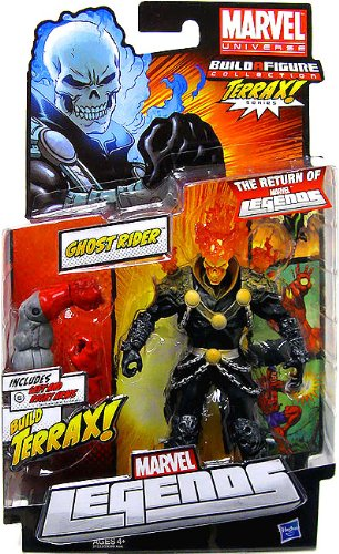 Marvel Legends Terrax Series Ghost Rider (Red Flame Variant)