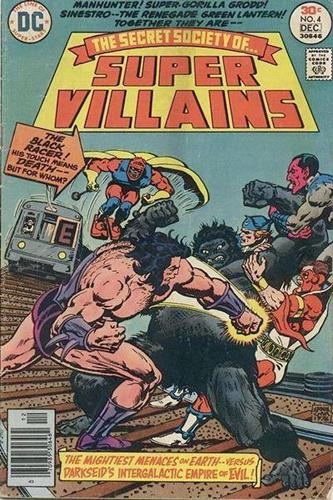 DC Comics Secret Society of Super-Villains (1976 - 1978) Secret Society of Super-Villains (1976) #4 Stock
