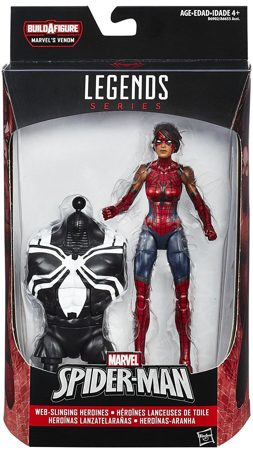 Marvel Legends Space Venom Series Spider-Girl