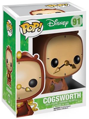 Funko Pop! Disney Cogsworth Stock