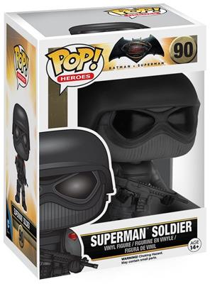Funko Pop! Heroes Superman (Soldier) Stock Thumb