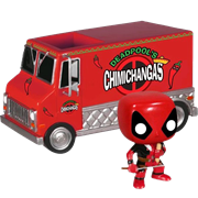 Funko Pop! Rides Deadpool's Chimichanga Truck (Red)