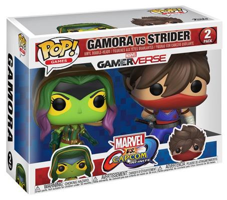 Funko Pop! Games Gamora vs. Strider Stock