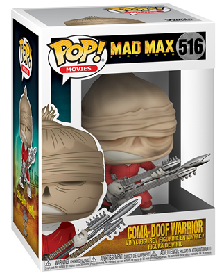 Funko Pop! Movies Coma-Doof Warrior Stock