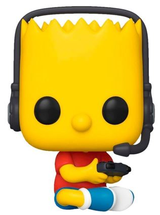 Funko Pop! Television Gamer Bart