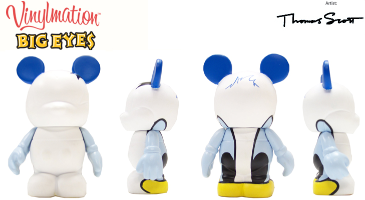 Vinylmation Open And Misc Big Eyes Donald Duck
