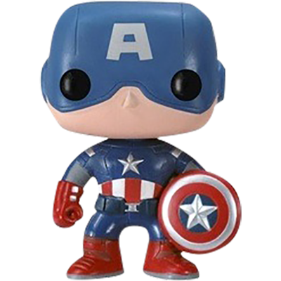 Funko Pop! Marvel Captain America (The Avengers)
