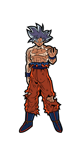 FiGPin Dragon Ball Super Ultra Instinct Goku Icon