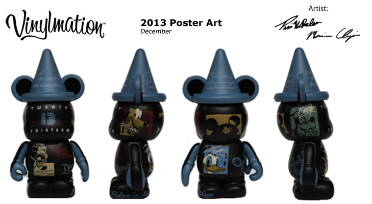 Vinylmation Open And Misc 2013 Poster Art December