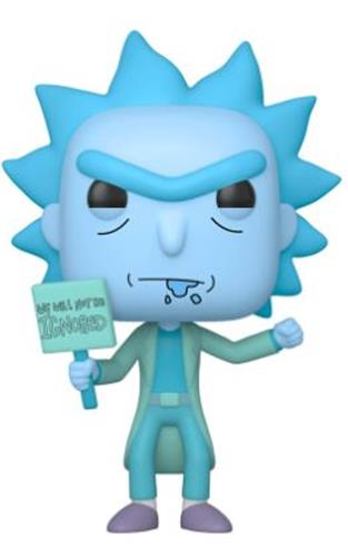 Funko Pop! Animation Hologram Rick Clone (Protester)
