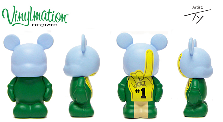 Vinylmation Open And Misc Sports Jr. Foam Finger