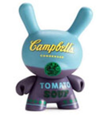 Kid Robot Blind Boxes Andy Warhol Series 1 Campbell's Blue