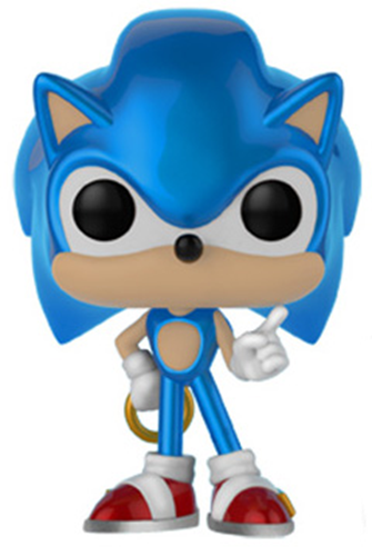Funko Pop! Games Sonic (Metallic)