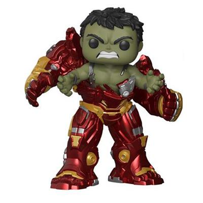 Funko Pop! Marvel Hulk Busting out of Hulkbuster