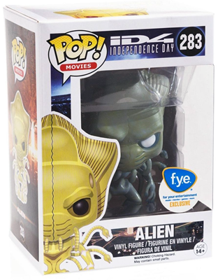Funko Pop! Movies Alien (Independence Day) - Grey Stock Thumb