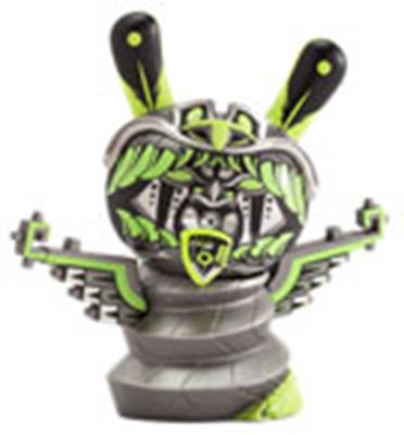 Kid Robot Special Edition Dunny Kukulcan (Glow) Stock