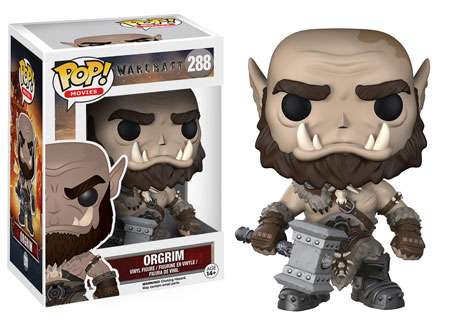Funko Pop! Movies Orgrim Stock