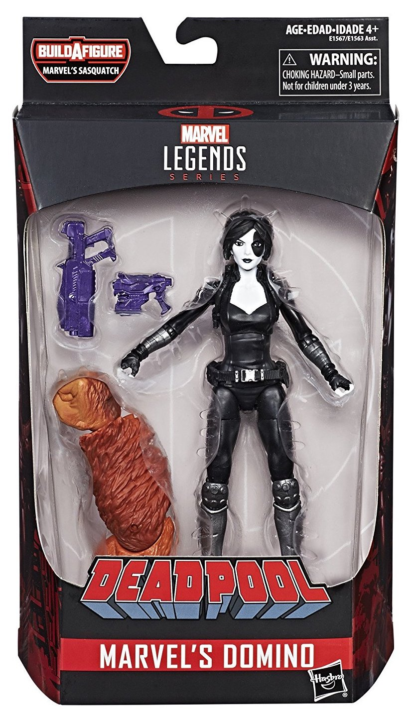 Marvel Legends Sasquatch Series Domino