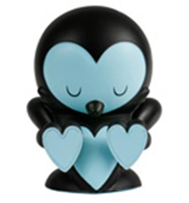 Kid Robot Art Figures Lovebirds: Black Stock
