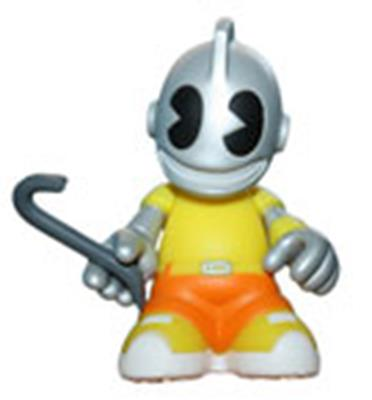 Kid Robot Blind Boxes Bots KidVandal (Yellow)