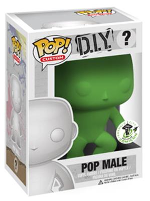 Funko Pop! Funko D.I.Y. Male (Green) Stock