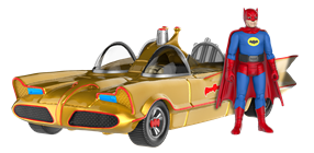 Funko - Other Action Figures Batman / Gold Batmobile