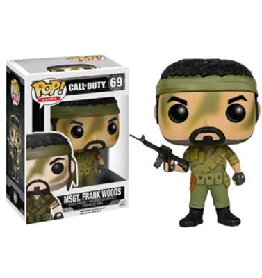 Funko Pop! Games MSGT. Frank Woods Stock
