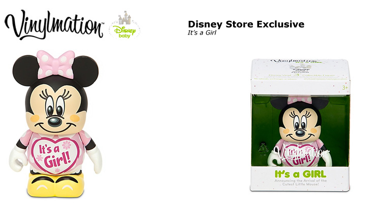 Vinylmation Open And Misc Exclusives It's a Girl